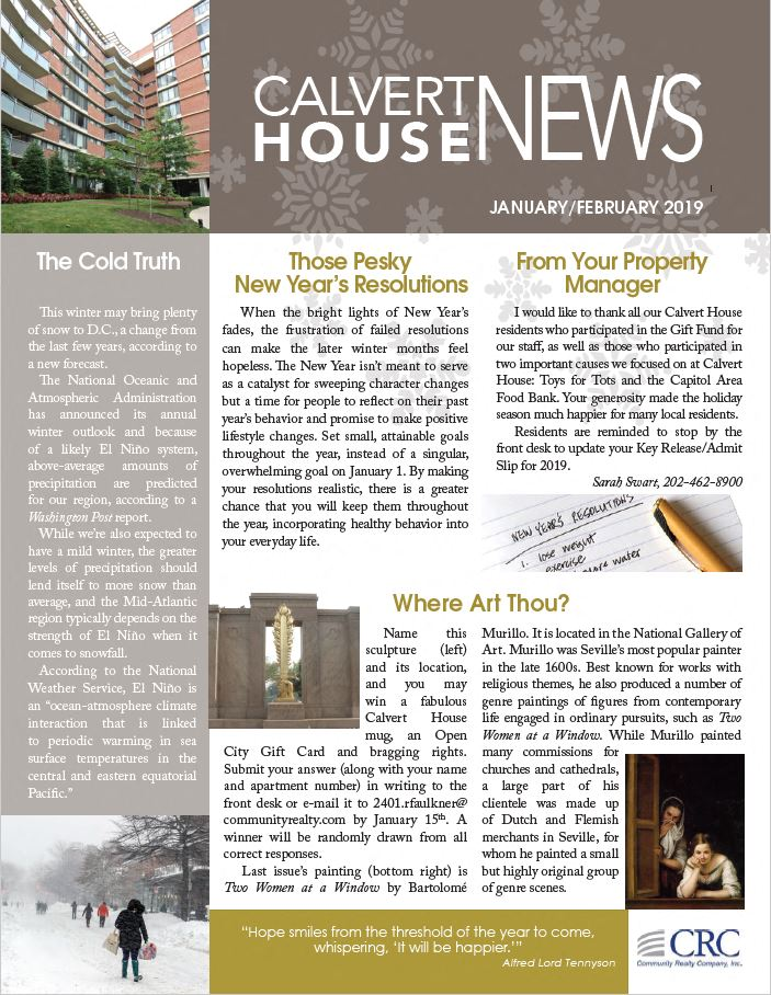 May/June 2018 Newsletter
