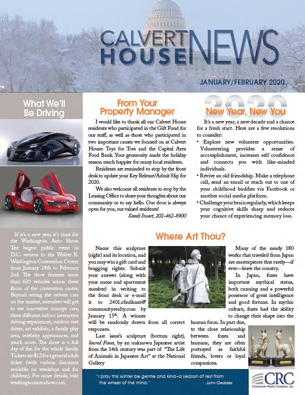 January/February 2020 Newsletter