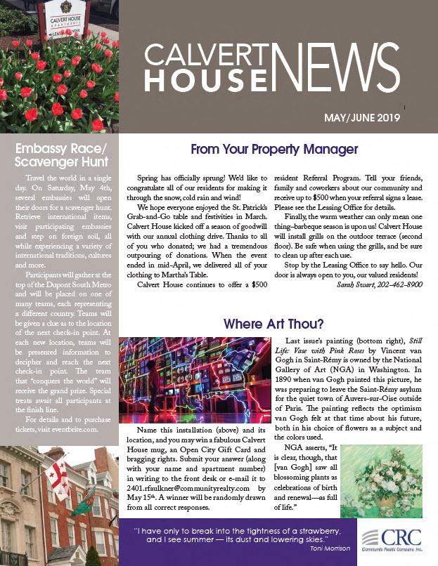 May/June 2019 Newsletter
